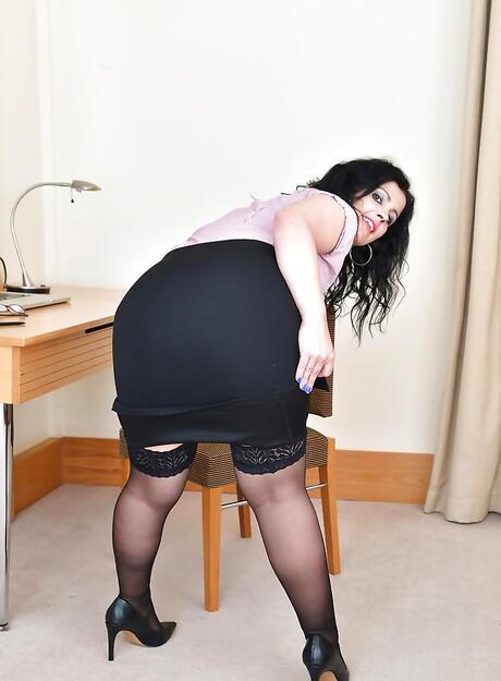 Brunette Ass